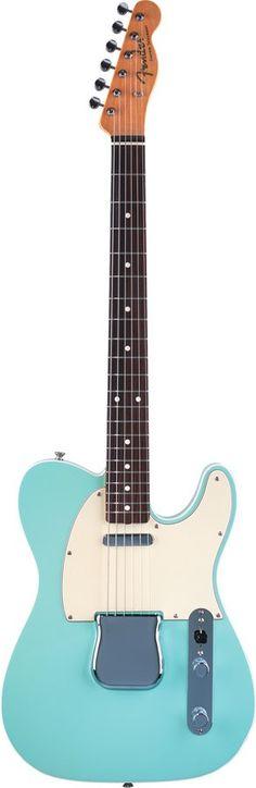 Fender American Vintage 62 Custom Telecaster Surf Green