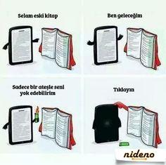 Siz hangisini tercih ediyorsunuz? Kitap mı yoksa e-kitap mı?