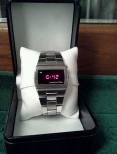 Hamilton led watch vintage