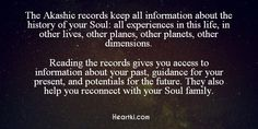 About the Akashic Records.
