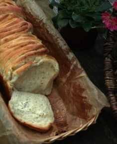 Herb butter spelled plucked bread - must not be missing for grilling! - Herb butter spelled plucked bread – must not be missing for grilling! – Preppie and me The Effe - Bread Recipes, Vegan Recipes, Grilled Desserts, Good Food, Yummy Food, Herb Butter, Snacks, Grilling Recipes, Chocolate Recipes