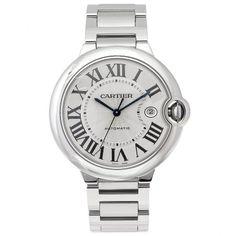 Cartier Men's W69012Z4 Ballon Bleu Stainless Steel Automatic Watch #best #sellers #luxury #watches