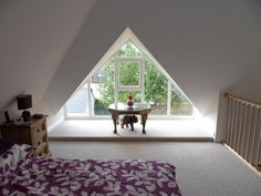 Fashionable attic - sweet picture