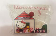 Vintage Hello Kitty tape cutter Sanrio made in Japan by TownOfMemories on Etsy