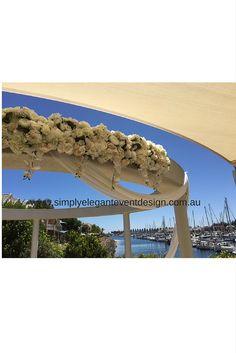 Weddings at cycsa cycsa cruising yacht club south australia stunning wedding ceremony area at the cruising yacht club of south australia ceremony decor by simply elegant junglespirit Choice Image