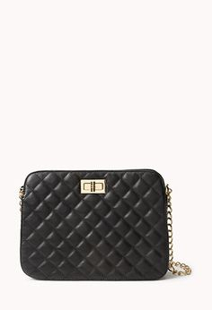 Chic Quilted Crossbody | FOREVER 21 - 1000073082