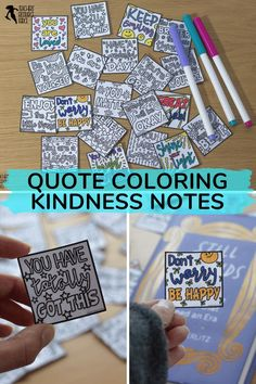 These printable coloring compliment notes are ideal for lifting the spirits in your classroom and spreading kindness and building classroom community! #kindnessproject #kindnessintheclassroom #schookindness #worldkindnessday #compliments #coloringcompliments #bekind Teaching Character, Character Education, Character Development, Building Classroom Community, Mindfulness Colouring, Kindness Projects, World Kindness Day, Quote Coloring Pages, Responsive Classroom