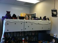 halloween cubicle charming desk decorating ideas work halloween