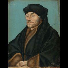 Ritratto di Erasmo. 1530. Boijmans van Beunigen Museum Rotterdam