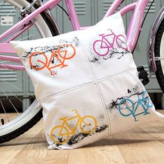 Urban Rider Pillow