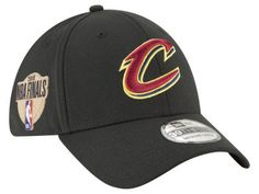 2929dd72c15 Cleveland Cavaliers New Era 2018 NBA Finals Bound Side Patch 39THIRTY Cap