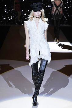 Temperley London Fall 2008 Ready-to-Wear Fashion Show - Lily Donaldson