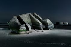 WWII Nazi Bunkers Stand the Tests of Time, Vandalism and Livestock | Raw File | WIRED