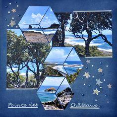 Je possède beaucoup de photos de la Guadeloupe et j'ai trouvé l'inspiration sur le site de Chantaloup qui j'espère ne sera pas contrariée car ce scrap est une copie d'une page de son voyage aux Antilles. Je pense avoir réussi le montage et en particulier...