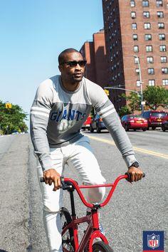 Women's New York Giants Gray Team Captain Tri-Blend V-Neck T-Shirt