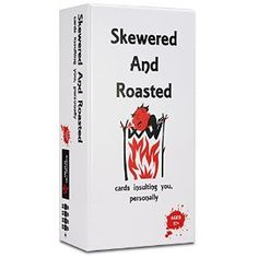 AmazonSmile: Skewered and Roasted Card Game / Adult Party Game: Toys & Games