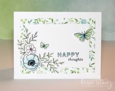 This month's project kit uses my favorite new collection called Chelsea Gardens . We will be creating a card set consisting of 8 cards (...
