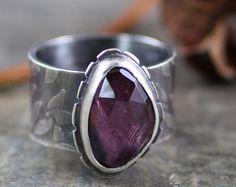 Reserved for scrimpk - Custom Secret Garden Ring - Ocean Jasper and Oxidized Recycled Sterling Silver - OOAK