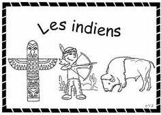 fichier sur les indiens MS et GS Early American, Native American, Texas Western, French Class, St Joseph, Cowboys, Preschool, Books, Style