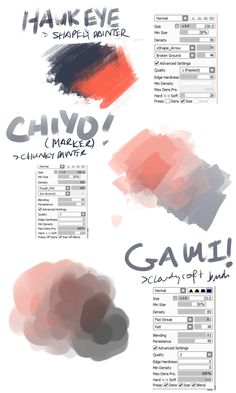 Custom sai brushes download