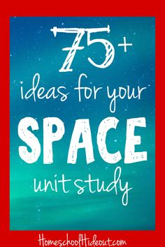 More than 75 Ideas for Your Space Unit Study Homeschool Hideout is part of Unit studies homeschool - Looking for fun and educational activities to do along with your space unit study From galaxy slime to sticker books, we've gathered up all you need! Space Activities, Science Activities, Educational Activities, Science Ideas, Science For Kids, Science Space, Science Fair, Elementary Science, Life Science