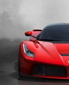 La Ferrari - Inspiring because it is part of a group of revolutionary electric hypercars