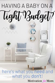 If you're preparing for having a baby on a budget, don't miss out on this list of what you DO and DON'T need for a new baby. Plus some bonus tips on even more ways to save money having a baby! It's possible to have a baby on a tight budget with these tips. #babyonabudget #savemoneyonbaby #newbaby #whatyouneedforbaby #babychecklist First Time Pregnancy, All About Pregnancy, Kids Sleep, Baby Sleep, Baby On A Budget, Potty Training Tips, Baby Checklist, Newborn Essentials, Quotes About Motherhood