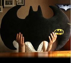 Batman Pillow Dark Knight Rises Cushion Black Cool Pillow 2001 | eBay