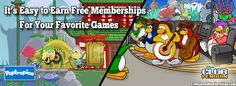 Free Game Memberships for Club Penguin, Poptropica, Animal Jam, Fantage, Bin Weevils, Moshi Monsters, and More! http://freegamememberships.com/