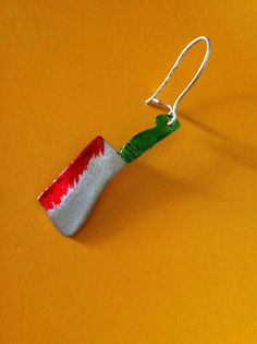 Kitchenware Funny  drop earrings sterling by ArchipelagosBreeze, €18.00