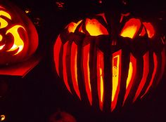 Halloween pumpkin Jack O Lantern - carved it 2015