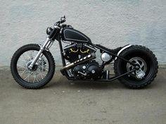 Bobber Inspiration | Harley-Davidson bobber motorcycle | Bobbers and Custom Motorcycles