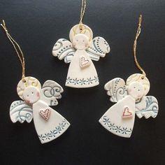 handmade pottery angels | Christmas Angel Crafts