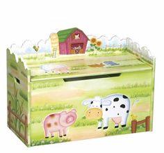 Little Farmhouse Toy Box...super super cute :)