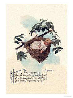 """Nursery Rhyme Theme: Should have a special """"baby"""" nursery rhyme something with all of the nursery rhymes that have """"baby"""" in them (Hush little baby, Rock-a-bye-baby, Bye baby bunting, etc)"""