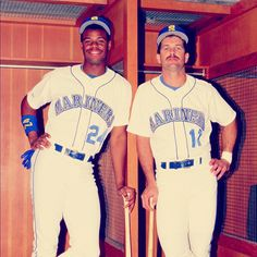 The Kid & Gar #ThrowbackThursday #PhotoOfTheDay #Mariners