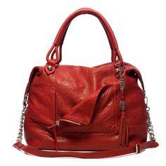 R ed Olivia Harris handbag