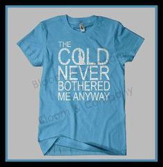 Frozen Inspired Let It Go Elsa Adult Shirt by BloomCompanyNet, $18.00