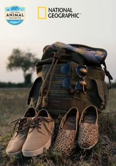 TOMS is excited to partner with National Geographic and support its critical nonprofit work through the Big Cats Collection, a special edition line of footwear, sunglasses, and a backpack inspired by National Geographic's Big Cats Initiative.