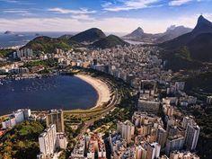 "Rio De Janeiro , Brazil ""Cidade Maravilhosa""! #photo #art #brazil #beach"