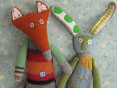 fox and the rabbit