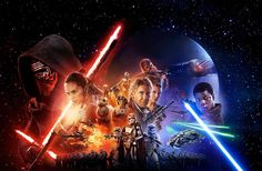 Star Wars The Force Awakens. Official poster.
