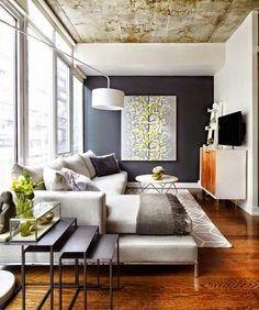 Decoracion De Salas Pequeñas Y Modernas. Small Living RoomsLiving Room ...