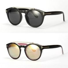 Sonnenbrille mit metallsteg CxKjflRu