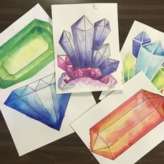 Art Rocks! 4th grade gems and crystals. Elementary art lesson. Elementary STEAM lesson, how to draw gems, how to draw crystals, #elementaryart #elementaryartteacher #elementaryartlesson #artlesson #crystals #crystalart #gems