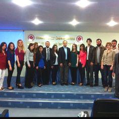 """Cumhuriye Universitesi Girisimcilik ve Yonetisim kulubu ile """"Sozun Bittigi Yerdeyiz"""" programi (06.04.2012)"""