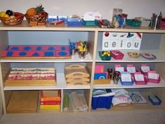 montessori materials | Curriculum - Children's House Montessori School of Rancho Carrillo