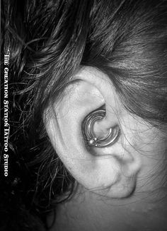 Double Daith $30 Jewelry included. Daith, Beautiful Things, Piercings, Tattoos, Inspiration, Jewelry, Peircings, Biblical Inspiration, Piercing