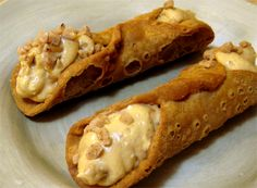 Butterscotch (with Cream Cheese) Cannoli!... DONE! Absolutely Delicious!