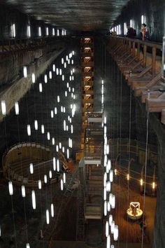 SALT MINES OUTSIDE OF CLUJ NAPOCA IN TRANSYLVANIA Come And See, Munich, My World, Budapest, Amsterdam, The Outsiders, Around The Worlds, Europe, Architecture